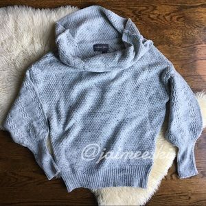 ANTHROPOLOGIE Michael Stars Grey Knit Sweater